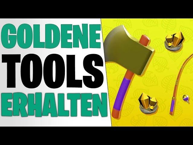 GOLDENE WERKZEUGE - GEHEIME Varianten & Haltbarkeit SECRET | Animal Crossing New Horizons Tipps
