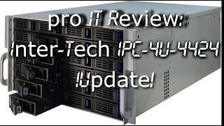 Inter-Tech IPC 4U 4424 Storage-Case Test / Review *UPDATE*