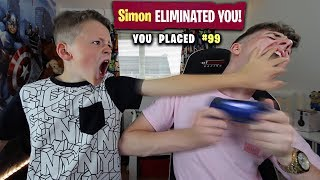 Kid Teaches Big Brother How to Play Fortnite... [GOES WRONG!]