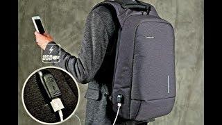 Kingsons USB Backapck АНТИВОР 15-дюймовый рюкзак для ноутбука Водонепроницаемый с внешним USB-портом