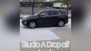 Studio A Drop Off/Pick Up Instructions