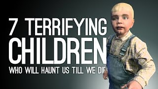 7 Unintentionally Creepy Kids Who Will Haunt Us Till We Die