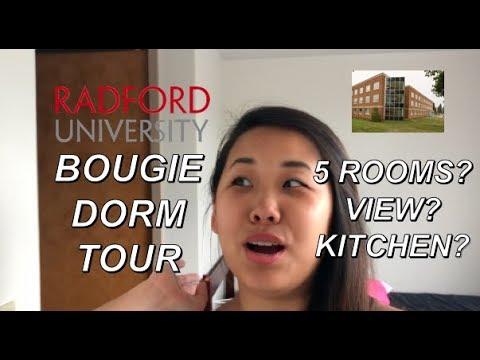 BEST DORM EVER?! ROOM TOUR | Radford University Washington Hall Penthouse
