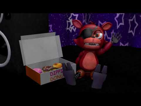 [Fnaf/SFM] Foxy Discovers A 'Donut Pirate'