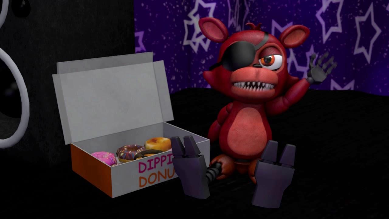 [Fnaf/SFM] Foxy Discovers a 'Donut Pirate'