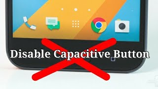 Redmi 3 How to disable capacitive button and enable on screen button
