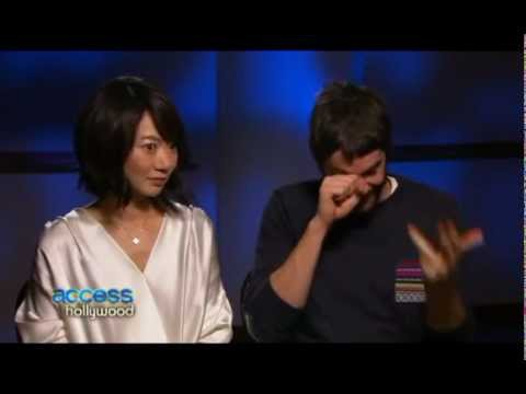 Doona Bae & Jim Sturgess Access Hollywood  1