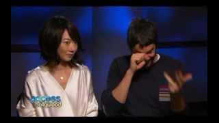 Doona Bae & Jim Sturgess Access Hollywood Interview #1