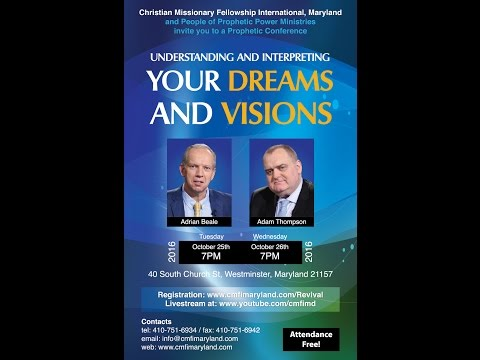 Dreams & Visions With Adrian Beale and Adam Thompson  Session 1