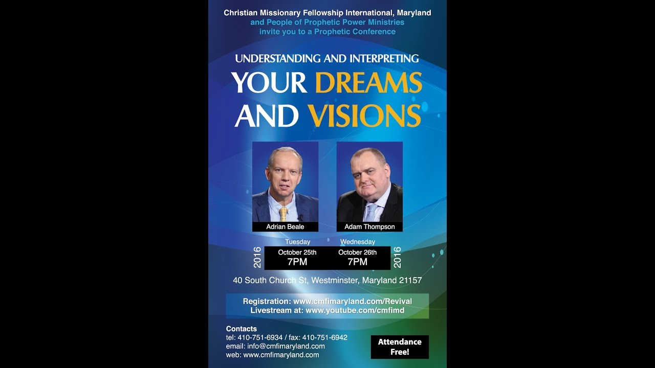 Dreams Visions With Adrian Beale And Adam Thompson Session 1