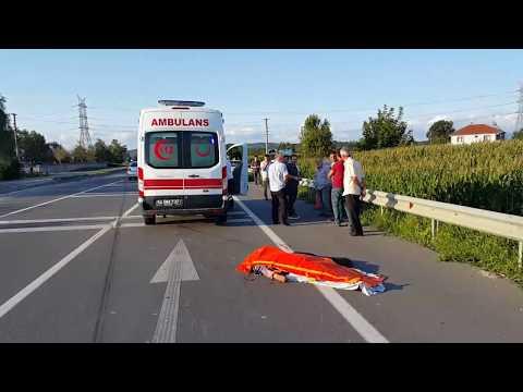 Sakarya Karasu Yolu Demirbey sapağında kaza