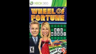 XBox 360 Wheel of Fortune Game #1