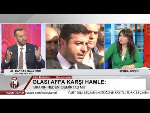 Af tartışması başladıysa mutlaka çıkar - Ali Haydar Hakverdi