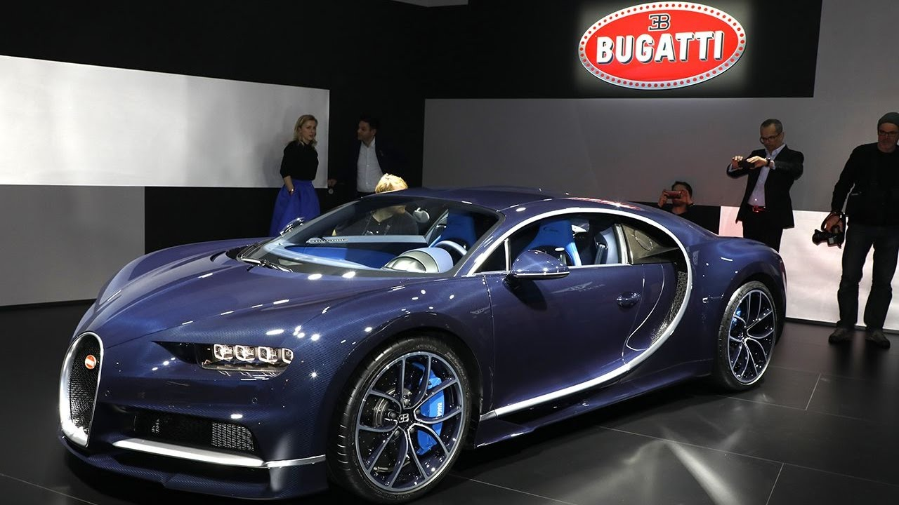 Bugatti chiron full carbon blue!! - YouTube