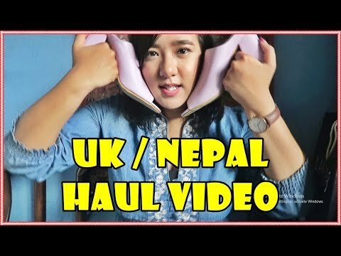UK/ NEPAL HAUL VIDEO | 500 LIKES | KICHHY VLOGS