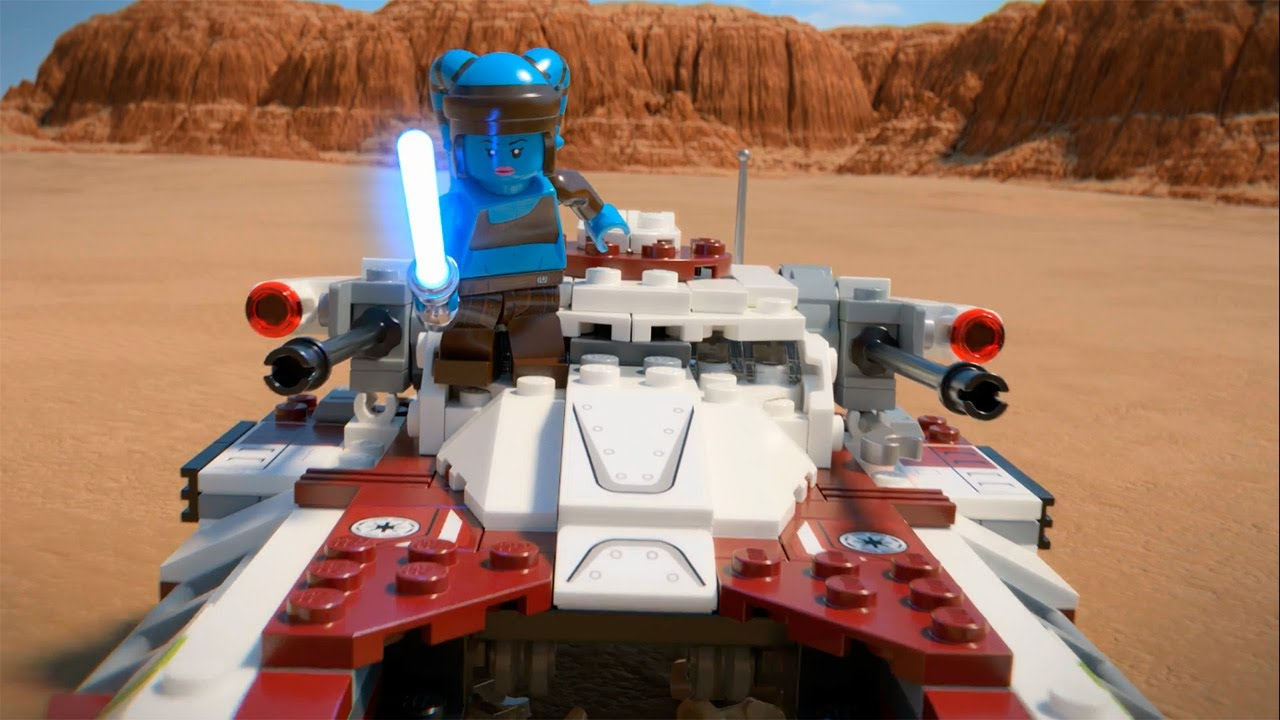 Republic fighter tank lego star wars 75182 product animation youtube - Croiseur interstellaire star wars lego ...