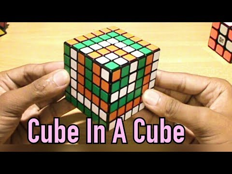 6x6 cube in a cube pattern