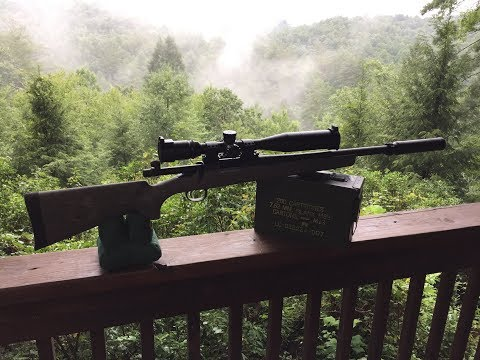 Suppressed Remington 700 SPS Tactical - Sound Comparison of Super and Subsonic Ammunition