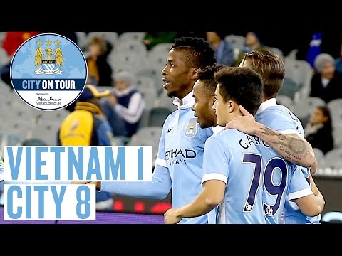 FULL MATCH Vietnam v Manchester City supported by visitabudhabi.ae