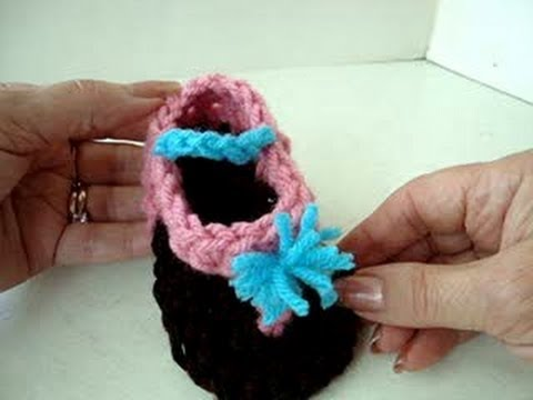 Baby Thong Sandals How To Crochet Flip Flops Youtube