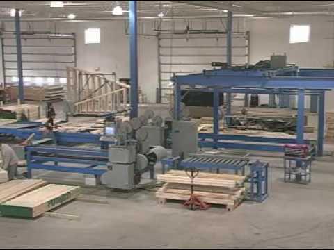 PCS/MiTek Wall Panel Manufacturing System