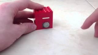 лего мини сейф V5 (супер маленький!) / lego mini safe (super small)