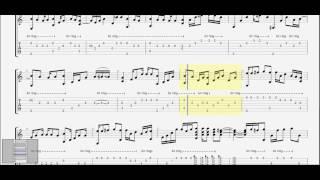 Ngốc (Hương Tràm) ST: Khắc Việt guitar solo tab by D U Y