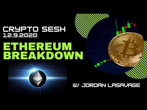 Cypto Sesh 12/9 : Ethereum Breakdown, BTC Technical and Sentimental Analysis