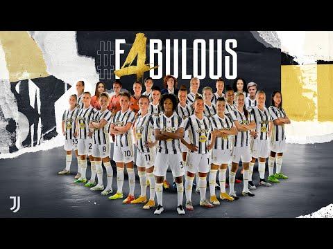 Juventus Women Win #F4BULOUS 4th Scudetto!   2020/21 Women Serie A Champions