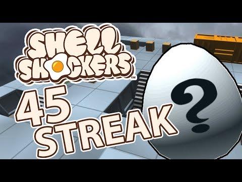45 STREAK EASTER EGG - Shell Shockers