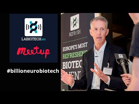 """Building a billion-euro Biotech"" with Simon Moroney, CEO and co-founder of Morphosys"