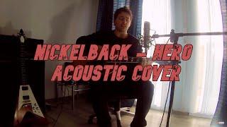 Nickelback - hero (acoustic cover)