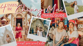 BEST of CHIANG MAI, THAILAND + CHIANG RAI Day Trip (4-DAY Itinerary) | Sophie Ramos