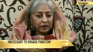 Kashmir interlocutor: Necessary to engage Pak