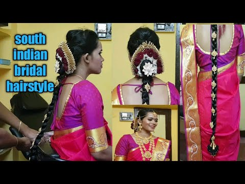 Wedding Hairstyle Step By Step South Indian Bridal Hairstyle Bridal Hairstyle For Short Hair