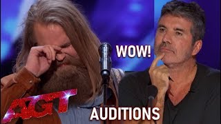 Chris Kläfford: EMOTIONAL Swedish Singer Leaves Simon Cowell SPEECHLESS!| America's Got Talent 2019