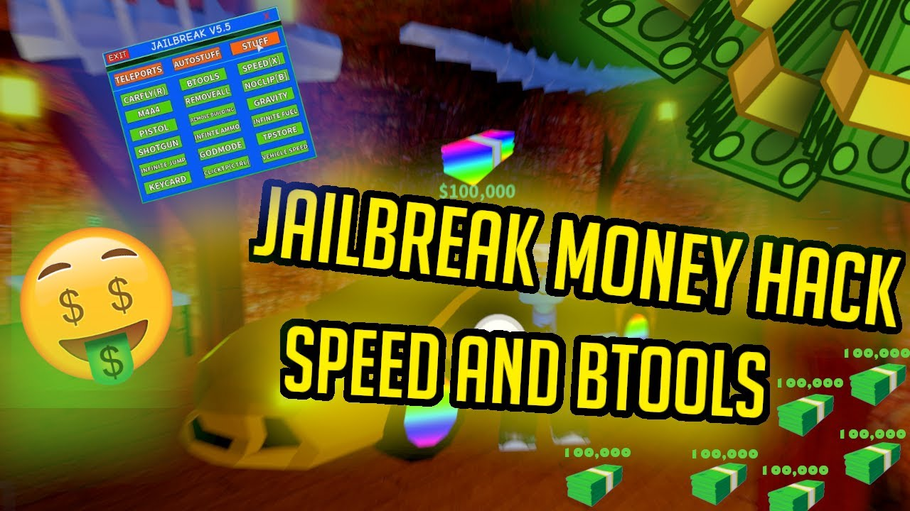 Jailbreak 2020 Hack Infinite Money And Walk Through Walls Not