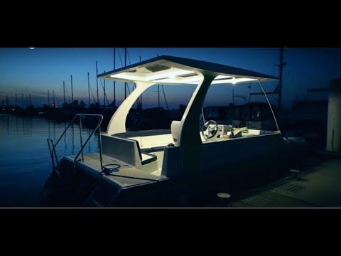 RA1 100%Solar Boat Presentation ,Dubai UAE