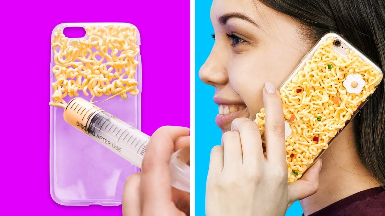 28 Cool Diy Phone Case Ideas Youtube