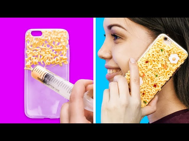 28 COOL DIY PHONE CASE IDEAS