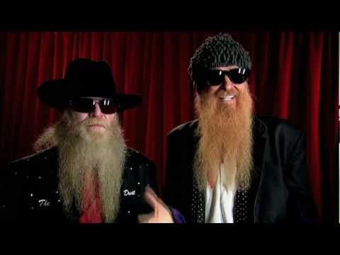 Backstage with ZZ Top
