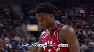 Toronto Raptors vs Charlotte Hornets | November 18 2019