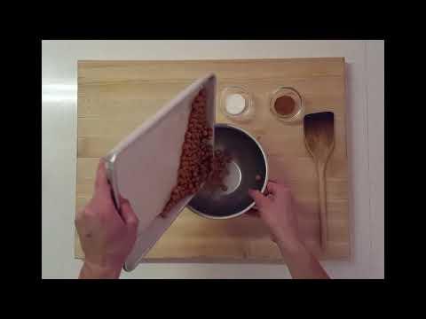 Thumbnail to launch Cinnamon & Sugar Roasted Chickpeas: Nourish Program video