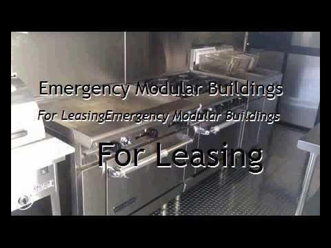 Emergency Modular Buildings For Leasing
