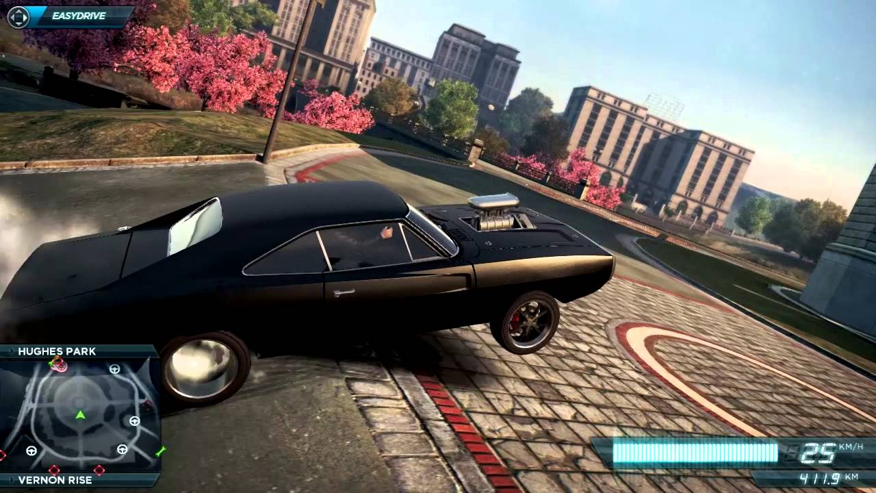 Nfs Most Wanted 2012 Dodge Charger R T Wheelie Youtube