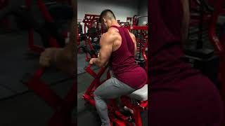 Machine row (Lower lat focused) :Thompson Nutrition Training