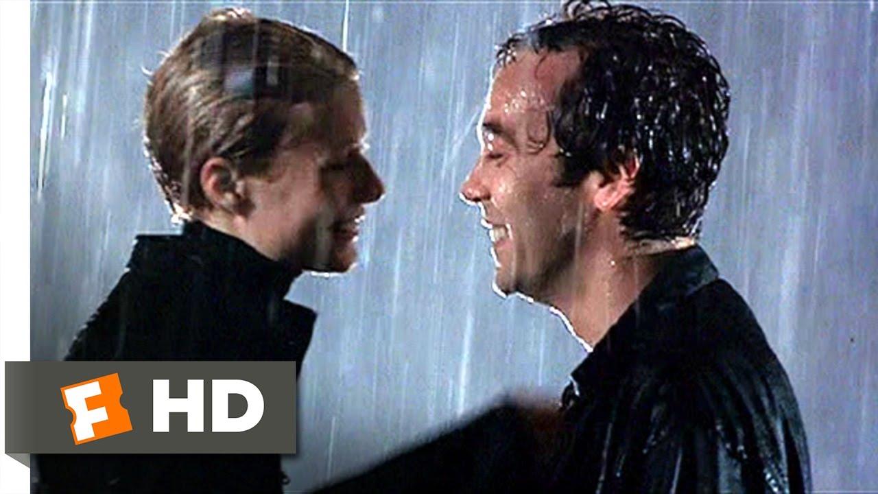 Sliding Doors 10 12 Movie Clip A Kiss In The Rain