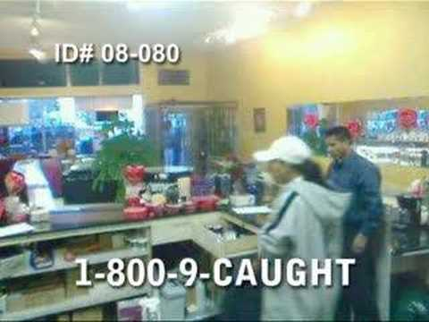 Armed Jewelry Store Robberies Caught on Tape