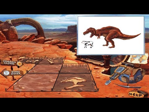 I can be a Dinosaur Finder (CD-ROM, 1997) - Full gameplay [HD]