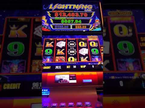 Lightning Link - Jackpot over 12k - Chumash Casino